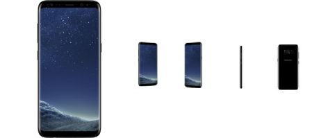 Смартфон Samsung Galaxy S8, 64GB, 4G, Midnight Black