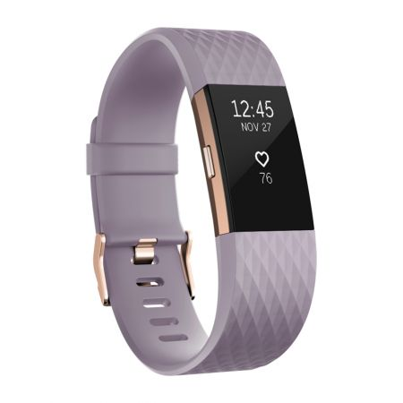 Фитнес гривна Fitbit Charge 2, Lavender Rose Gold, Large